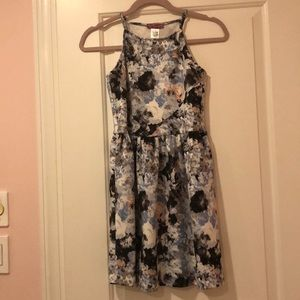 Cute Girl's Patterned Dress